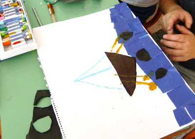 Μικροί Καλλιτέχνες σε δράση Sxoleio+eikastika+kolaz+karavaki+016
