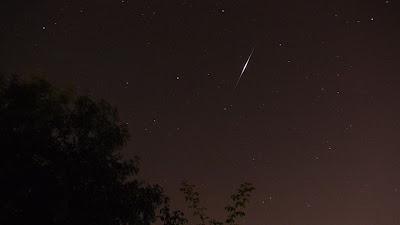 Iridium flare magnitude -8
