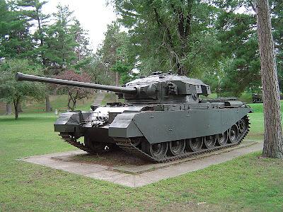 Centurion Mk 3 tank, Worthington Tank Museum at CFB Borden (Ontario, Canada)