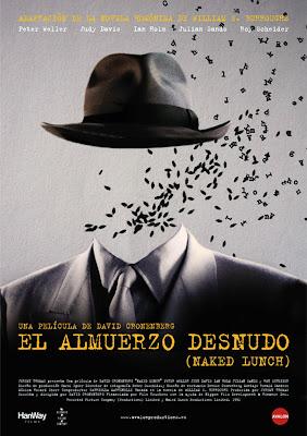 El Almuerzo Desnudo Poster