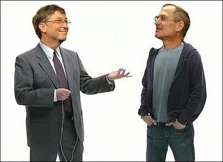 Gates e Jobs