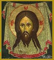 le visage du Christ. Icône.Roumanie.