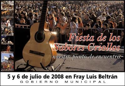 Fiesta de los Sabores Criollos - Fray Luiz Beltrán (Santa Fe)