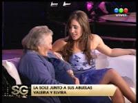 La Sole y su abuela Elvira