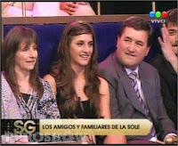 Gricelda, Nati y Omar Pastorutti