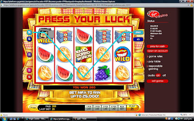 Slam Stop Bonus at Virgin Casino