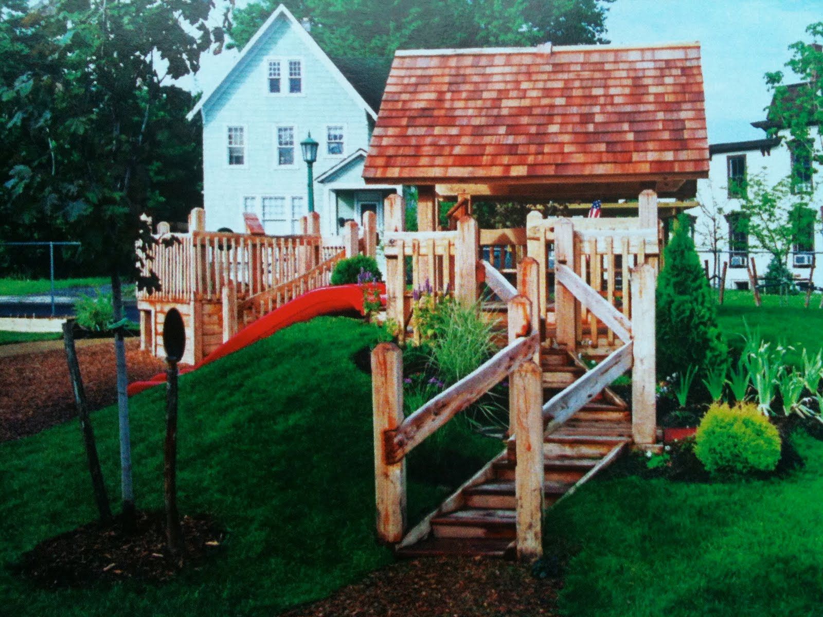 Mommy In The Mist Build A Natural Playscape In Your Own Yard and Backyard Playscapes