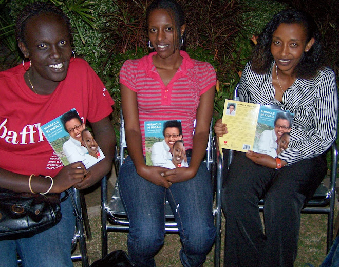 Miracle in Kigali Book Signing