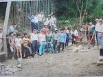 Puente El Esfuerzo por Vecinos aporte materiales ONG Vision Mundial 1990