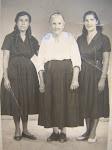 Doña Maria Eugenia Avila ( 1886 - 1980 )  vivio 94 años, Madre de Don Jose  foto 1963