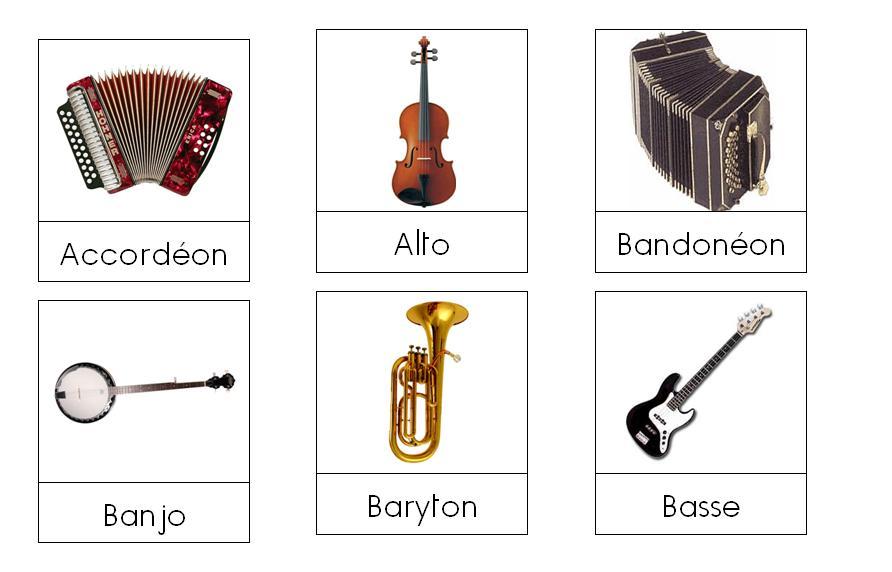 Maman kangourou les instruments de musique - Photo d instrument de musique ...