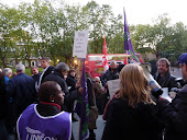 20OCT10 Demo outside Southwark Town Hall