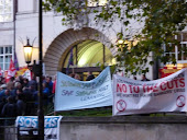 20OCT10 Demo in Southwark