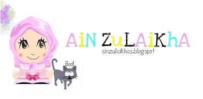 Tahniah Ain Zulaikha