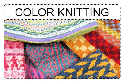 How To Knit Patterns With Different Colors : TECHknitting: How to knit with two or more colors-part 1: background information