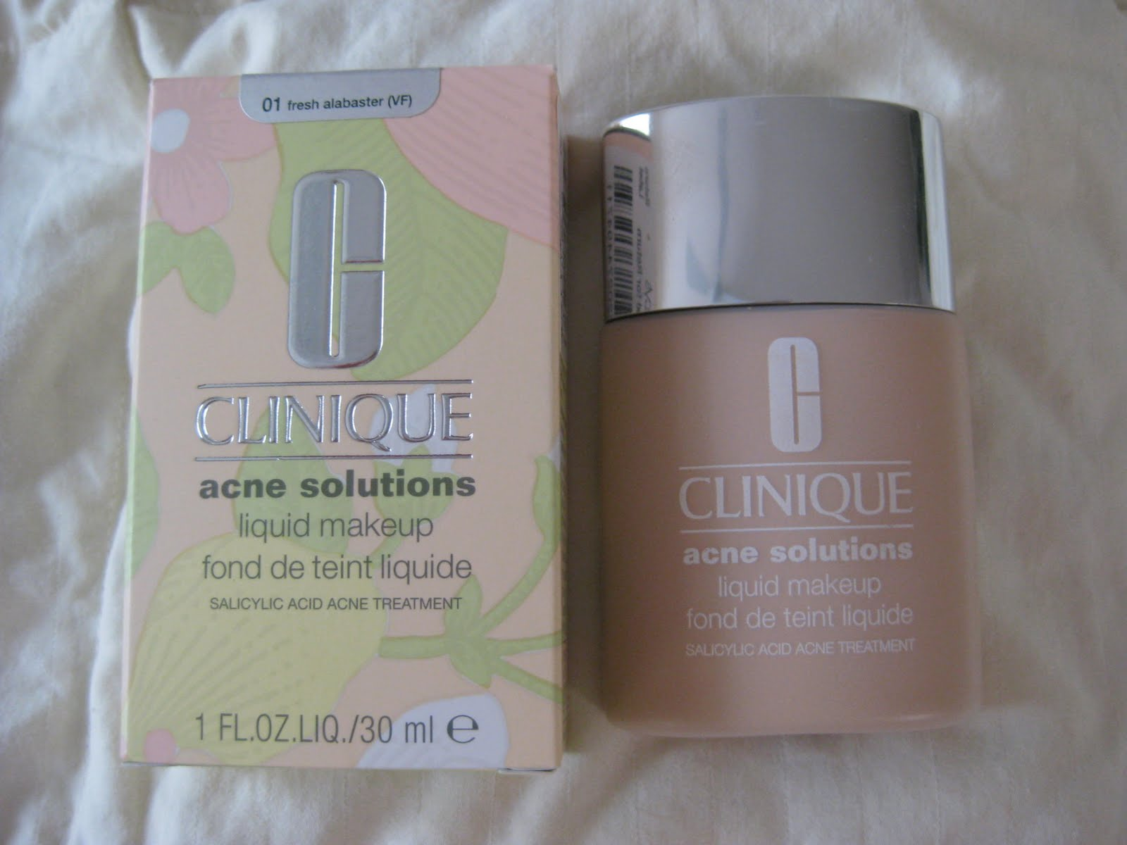 Beauty babble review clinique acne solutions foundation for Where is clinique made