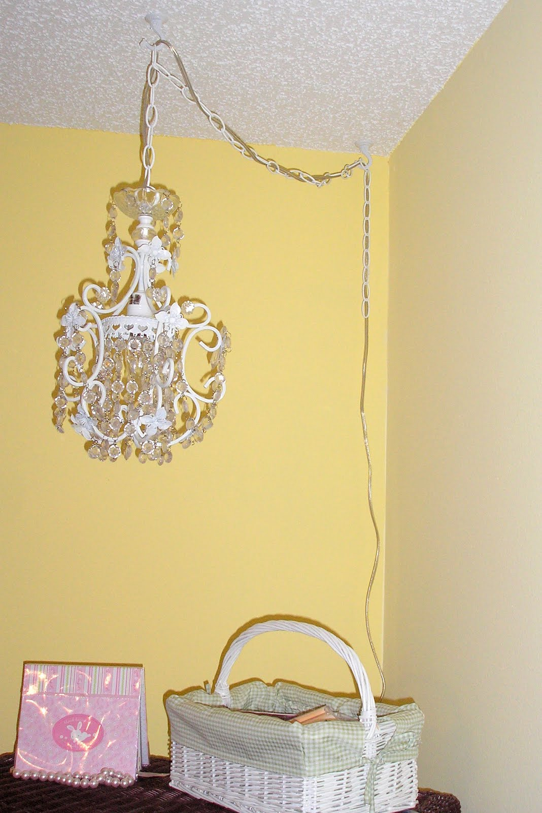 alexiajean crafts chandelier or cord cover. Black Bedroom Furniture Sets. Home Design Ideas