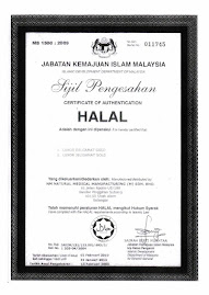 Sijil Halal JAKIM Jeli Gamat GOLD
