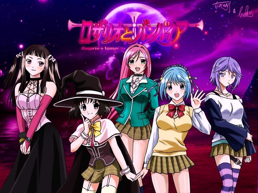 rosario vampire anime my faviorite anime vampire anime
