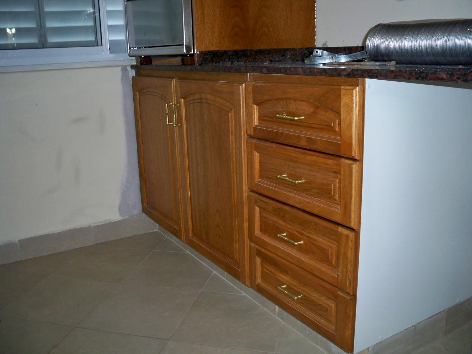 Deco muebles amoblamiento de cocina en roble for Muebles de cocina roble