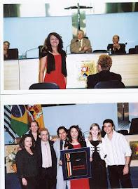 Sonia recebe título de Cidadã Sorocabana por sua arte ter percorrido o mundo.