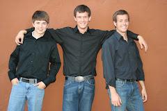 Our younger BOYS: Joseph Scott (14) Seth Lorenzo (19) Jacob Daniel (22) COSBY