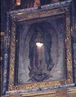 This photo of the image of Our Lady of Guadalupe was taken the day abortion was legalized in Mexico City and a baby-like light mysteriously appeared which cannot be explained.