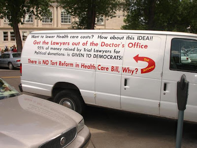 Van painted to complain about ObamaCare, falsely
