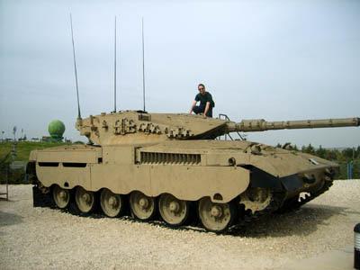 Tanque Merkava 1 - Israel