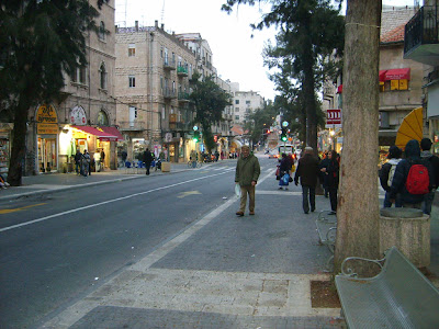 Jerusalem - King George St.