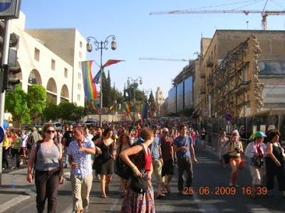 Orgullo gay en Jerusalem 2009