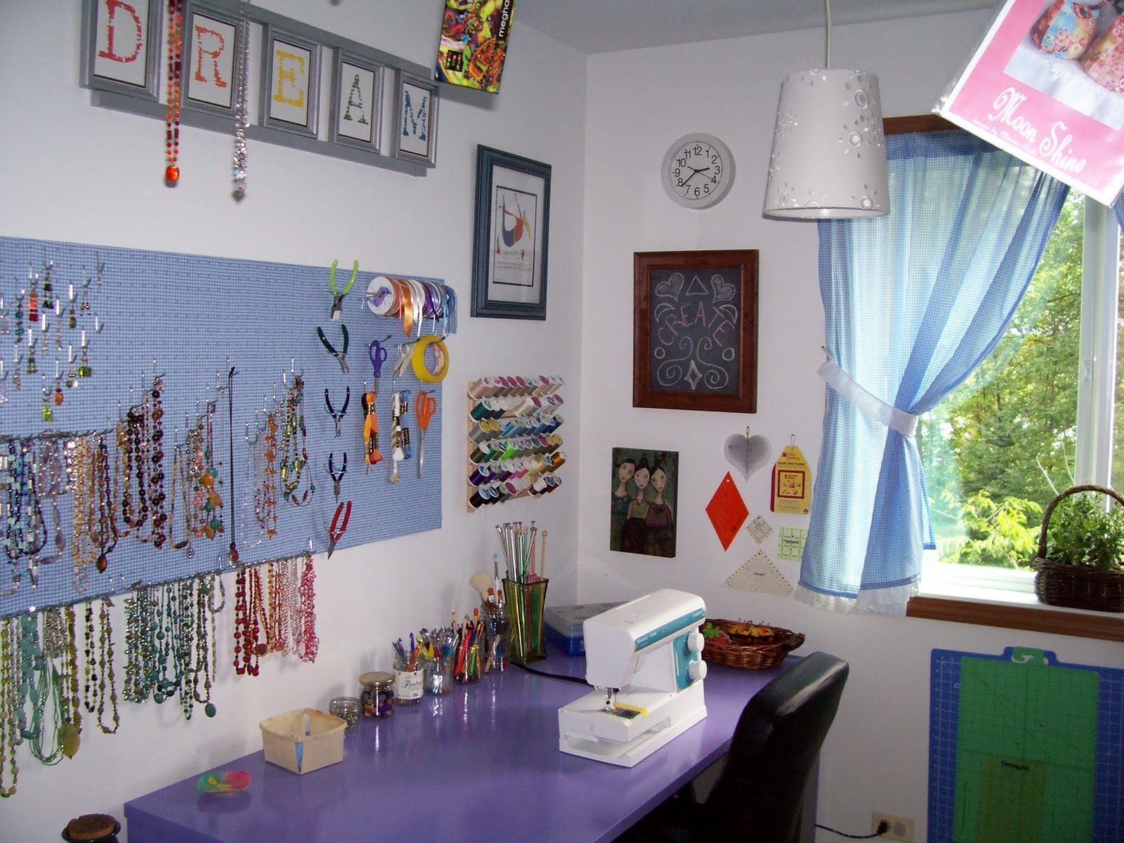 Craftopotamus Craft Room Redesign
