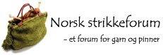 Norsk strikkeforum.