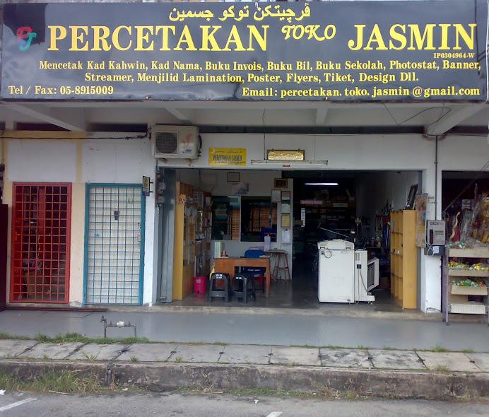 Percetakan Toko Jasmin