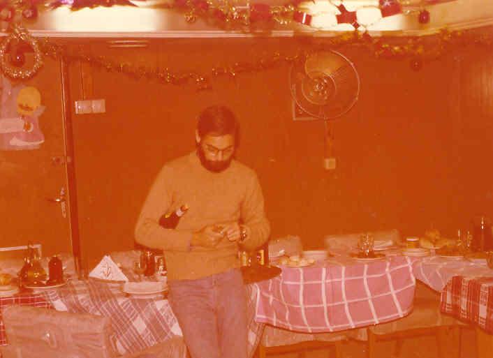 ... Passagem de ano 1976/77...