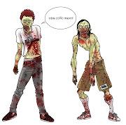 Soñar con zombies no implica un significado positivo