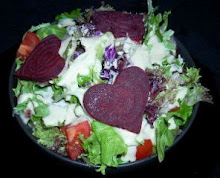 Goddess Dressing with beet salad