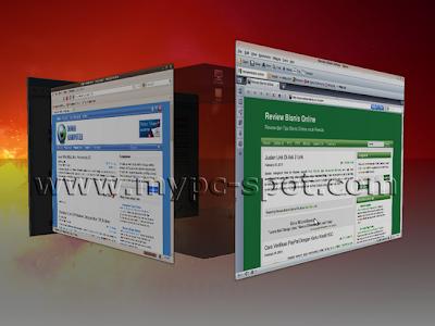 Desktop 3D Cube di Ubuntu