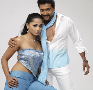 surya and anushka in singam