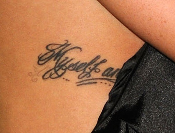 Shenae Grimes Tattoo