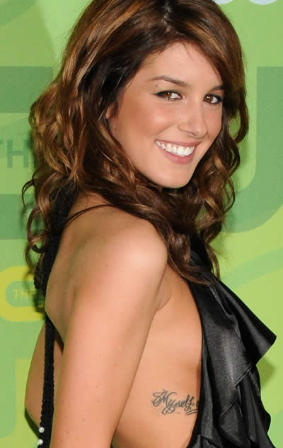 Shenae Grimes Hot Tattoo Pictures 2011