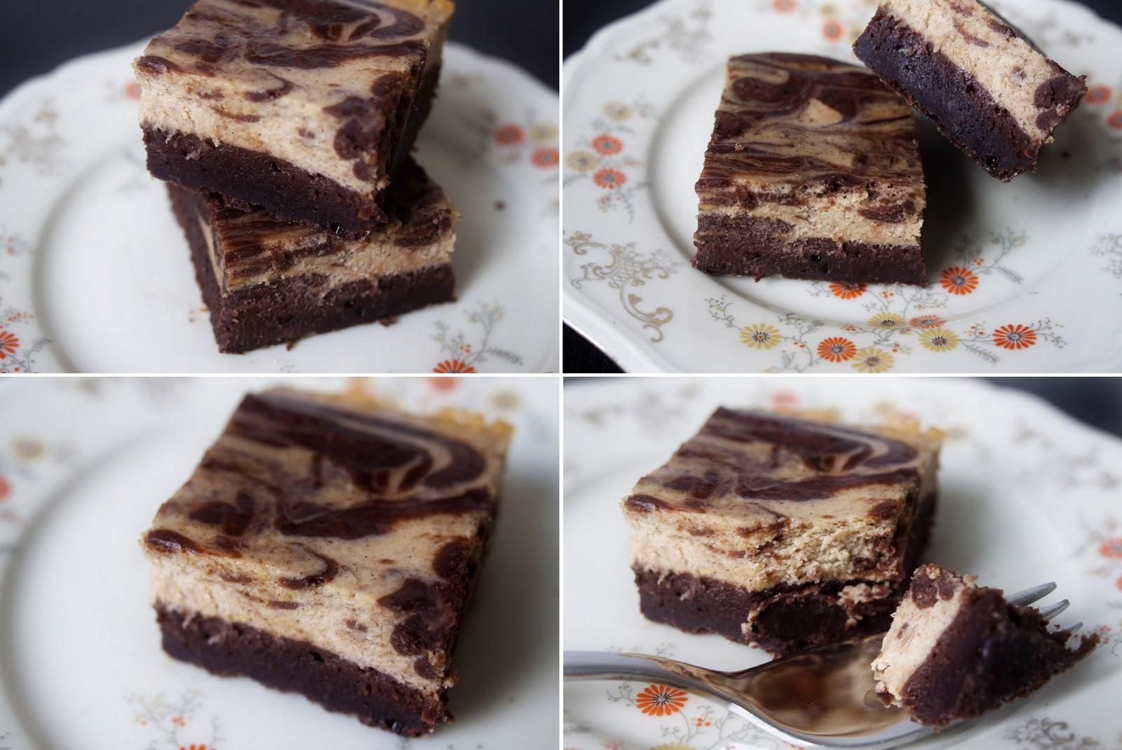 Behind the Skillet: Pumpkin Cheesecake Brownies