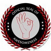 Official Seal of Awesome