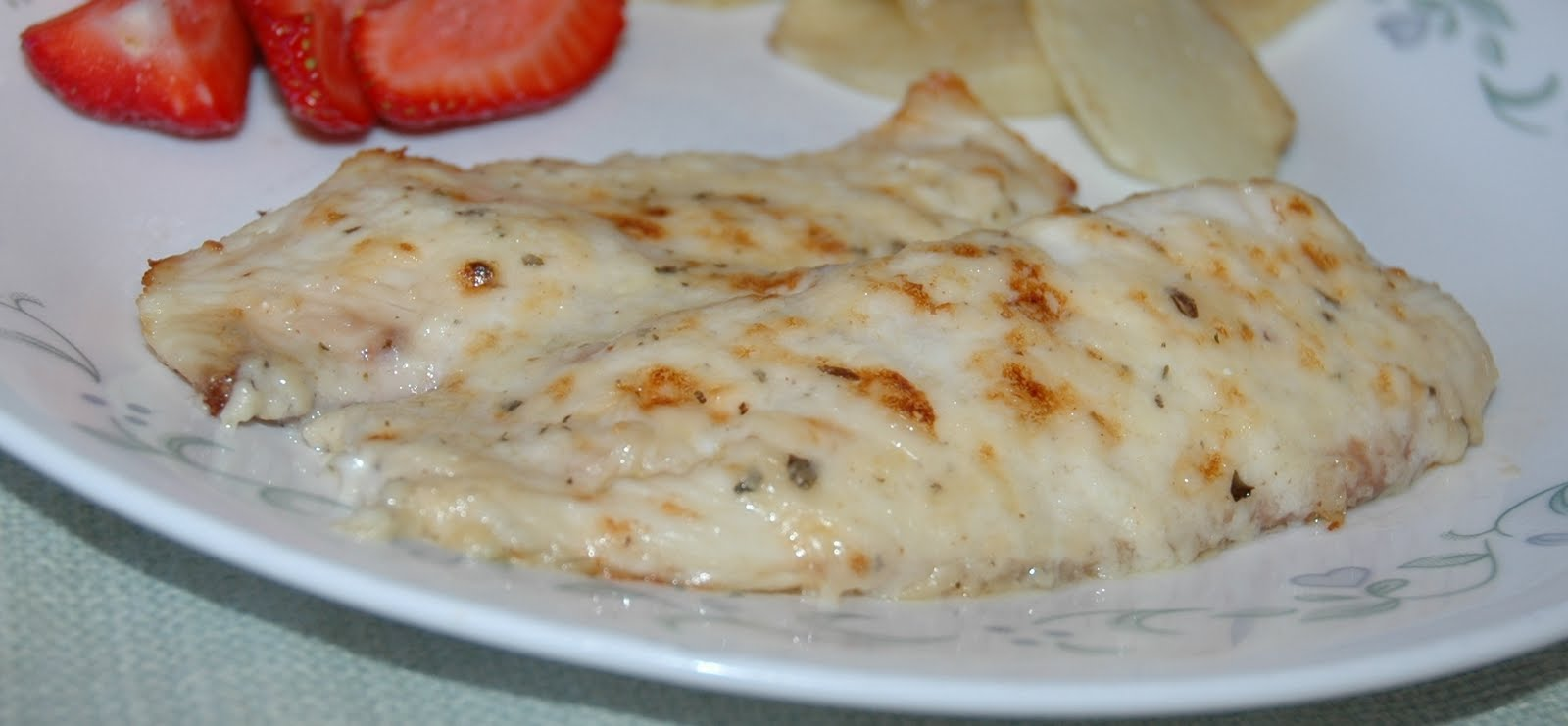 What is on your menu this week?: Broiled Tilapia Parmesan