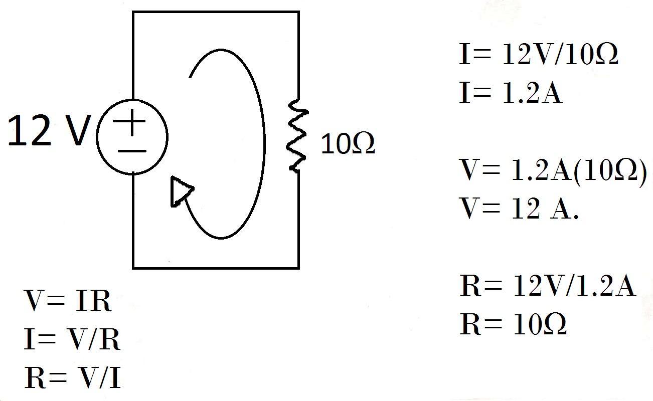 Circuito Sencillo : Electricidad y electronica industrial: ley de ohm