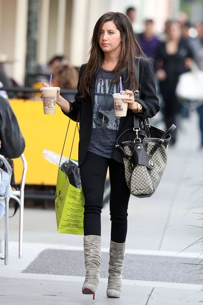 Fashion Style Guide on Abby S Little Addictions  Style Icon  Ashley Tisdale