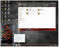 Fire Flower - Windows 7 Themes