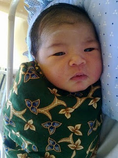 Abril Asyraaf 2 day old