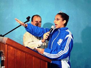 Flavia Pedro- Juramento do Atleta