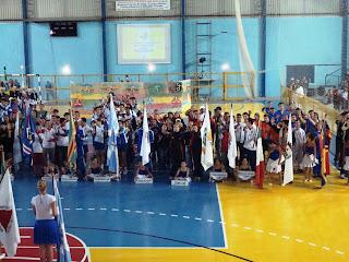 Delegações presentes